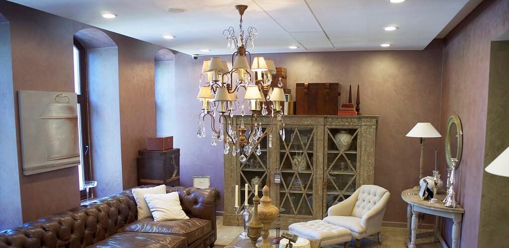 chandelier hanging in room